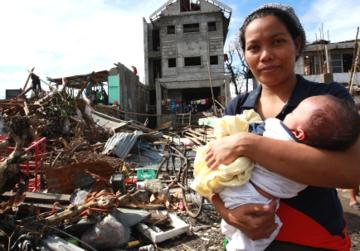 Hilfe für die Betroffenen des Taifun Haiyan
