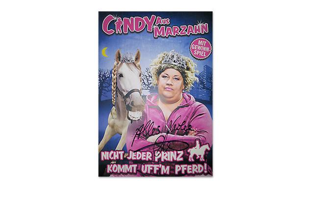 Signiertes Programmheft von Cindy aus Marzahn