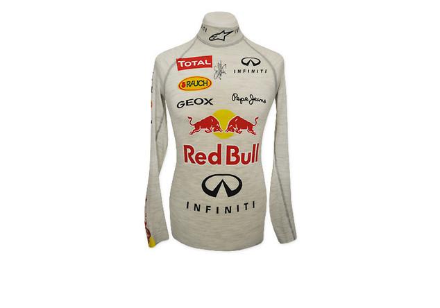 Vettels Rennhemd