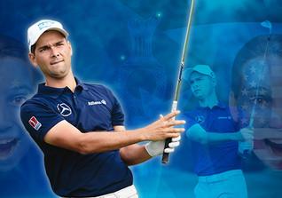 Golfen mit Moritz Lampert