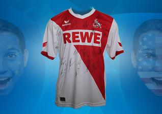 Köln-Trikot signiert