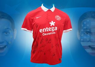 Mainz-Trikot signiert