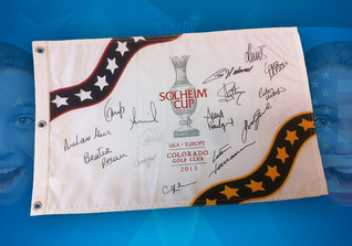 Pin Flag Solheim Cup 2013