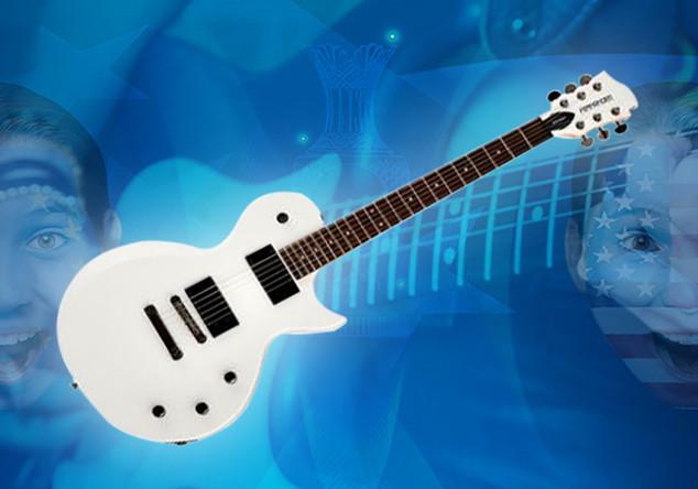 Signierte Gitarre Naidoo