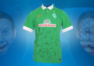Werder-Trikot signiert