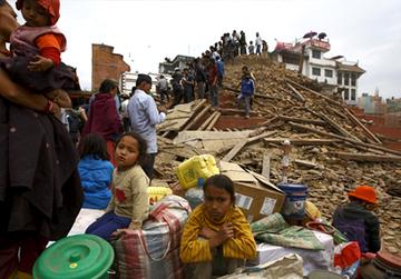 SOS Kinderdorf Nepal - Nothilfe für die Opfer des Erdbebens