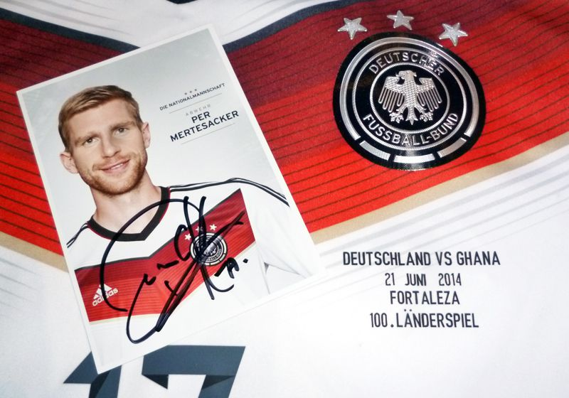 WM-Trikot Mertesacker
