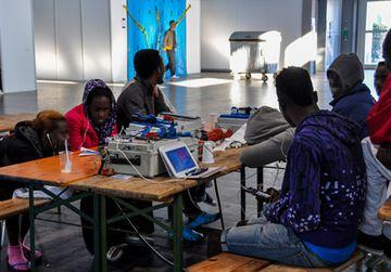 Traumahilfe für Flüchtlingskinder in Sachsen