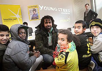 Das Projekt YOUNGSTER akademie am Borsigplatz ist eines der Leuchtturmprojekte der BVB-Stiftung leuchte auf