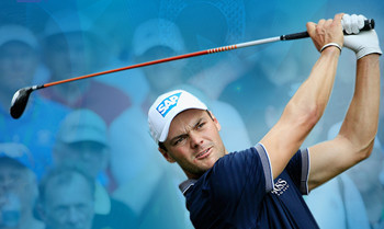 Golfrunde mit Martin Kaymer