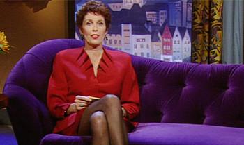 Erika Bergers TV-Couch wird versteigert