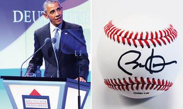 Barack Obama hat einiges für United Charity signiert