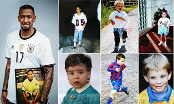 Boateng, Neuer, Özil & Co. zeigen ihre Kinderbilder für den guten Zweck