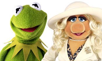 Triff die Muppets