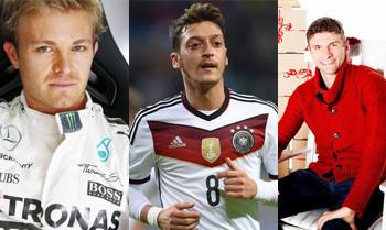 Rosberg, Özil, Müller