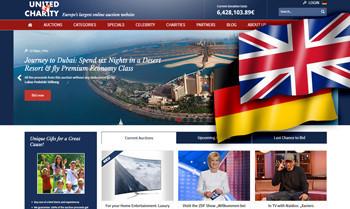 United Charity geht mit englischer Website auf den internationalen Markt