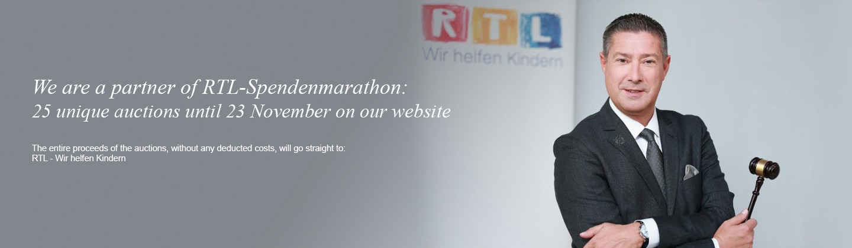 We are a partner of RTL-Spendenmarathon