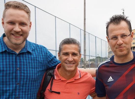 Markus Schäfer, Jorginho und Martin Schäfer