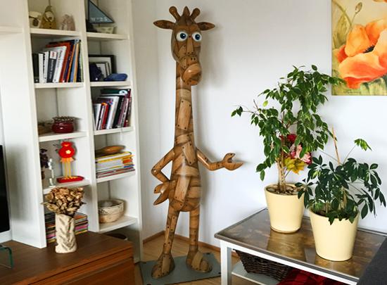 Die Trojanische Giraffe