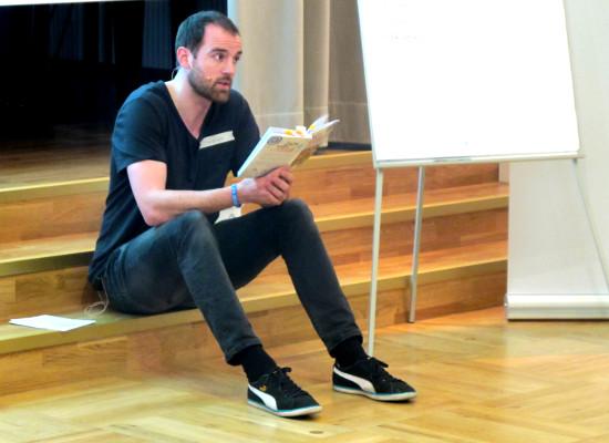 Christoph Metzelder zu Besuch in Baden-Baden