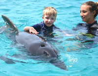Delfintherapie-Tobias