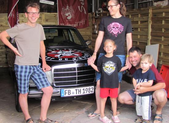 DTH-Benz fährt nach Rhodt