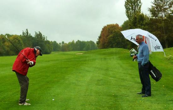 Golf-Runde der besonderen Art