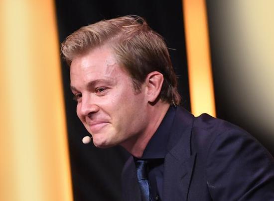 Nico Rosberg - emotional auf der Bühne der Tribute to Bambi Gala