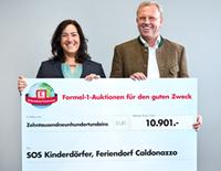 Scheckübergabe-SOS-Kinderdö