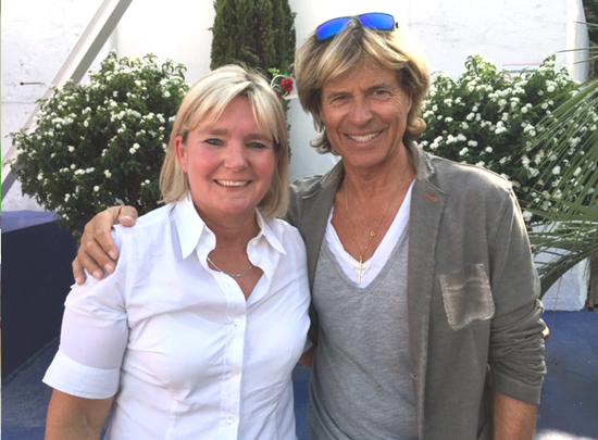 Ulla mit Hansi Hinterseer
