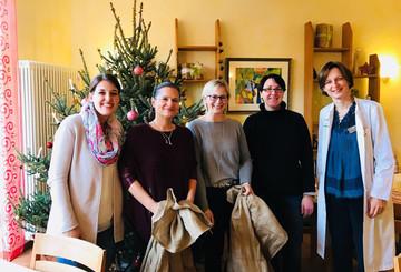 Unser Team in der Kinderkrebsklinik Freiburg