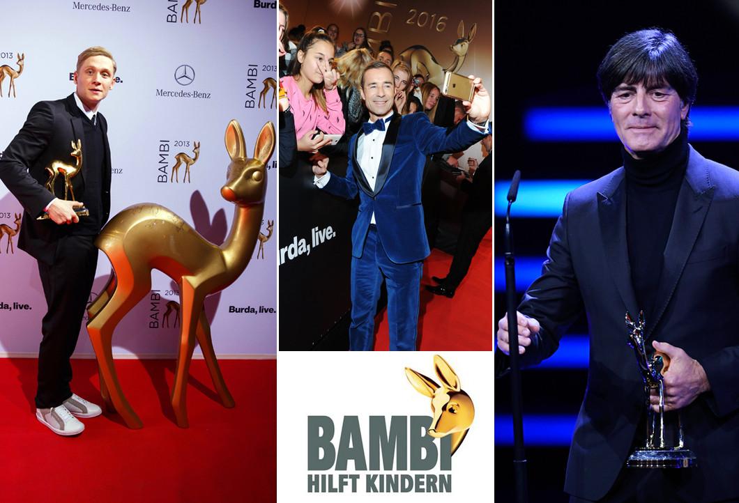 Bambi hilft Kindern gemeinsam mit Promis
