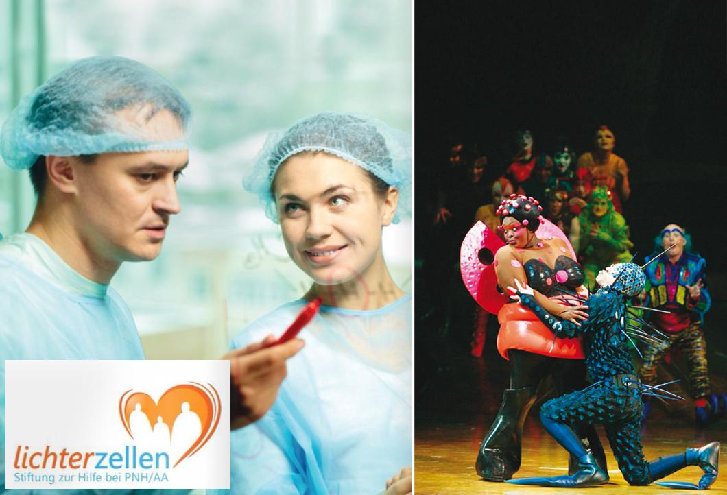 Für die Stiftung Lichterzellen den Cirque du Soleil erleben