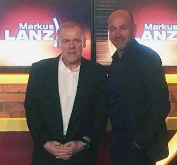"Kinderlachen-Botschafter Hermann Gerland bei ""Markus Lanz"""