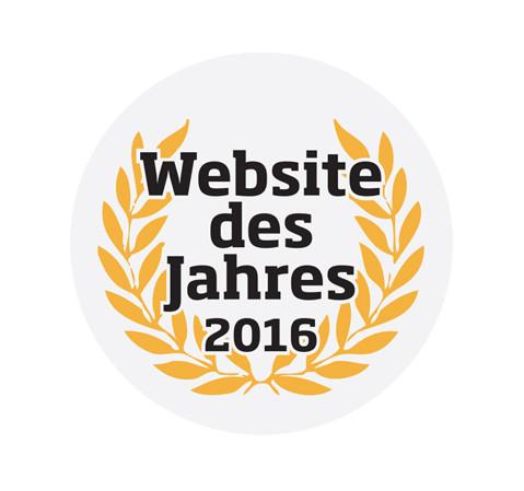 Nominiert für die Website des Jahres – Stimmen Sie für uns ab!