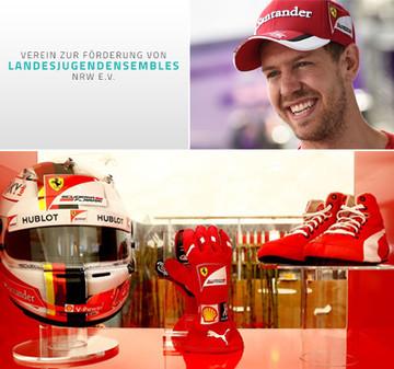 """Sebastian Vettel unterstützt """"Verein zur Förderung von Landesjugendensembles NRW"""""""