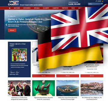 Website jetzt auch in englischer Sprache verfügbar