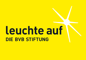 leuchte auf die bvb stiftung united charity. Black Bedroom Furniture Sets. Home Design Ideas