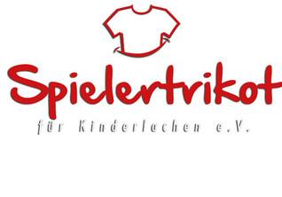 Spielertrikot für Kinderlachen e.V. - Hilfe für sozial schwache und vom Leben gezeichnete Kinder