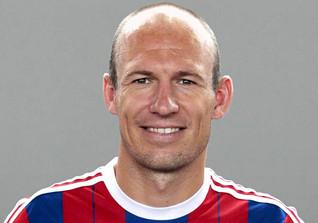 Arjen Robben - Niederländischer Fußballspieler beim FC Bayern München