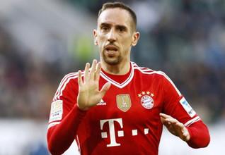 Franck Ribéry - Französischer Fußballspieler beim FC Bayern München