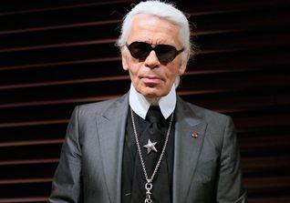 Karl Lagerfeld ist ein deutscher Modeschöpfer, Designer und Fotograf