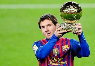 Lionel Messi - Argentinischer Fußballspieler beim FC Barcelona und Weltfußballer