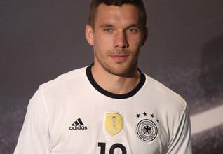 Lukas Podolski - Fußballspieler beim japanischen Verein Vissel Kobe und Weltmeister