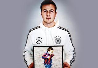 Mario Götze - Fußballspieler bei Borussia Dortmund und Weltmeister