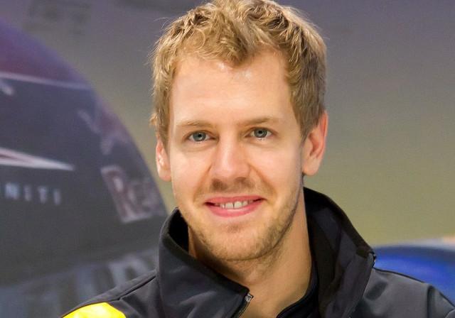 Sebastian Vettel, deutscher Rennfahrer und vierfacher  Formel 1-Weltmeister