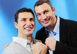 Wladimir Klitschko und Vitali Klitschko - Ukrainische Profiboxer und mehrfache Weltmeister