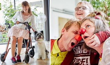 Hunde und Clowns im Kinderhospiz Balthasar