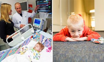 Research for cardiac children
