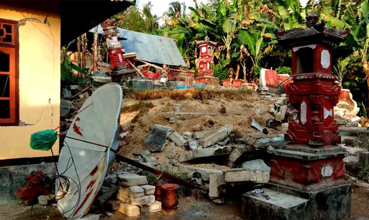 Verheerendere Auswirkungen der Erdbeben